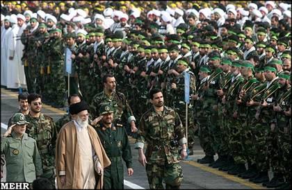 The-Supreme-Leader-attends-Basij-Ceremony