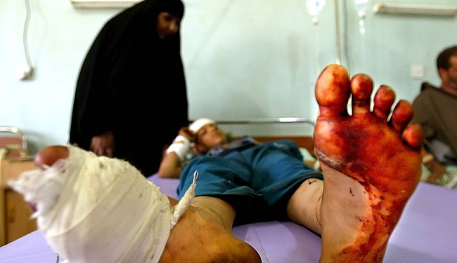 At Least 3200 Killed and Injured in Iraq October's Violences