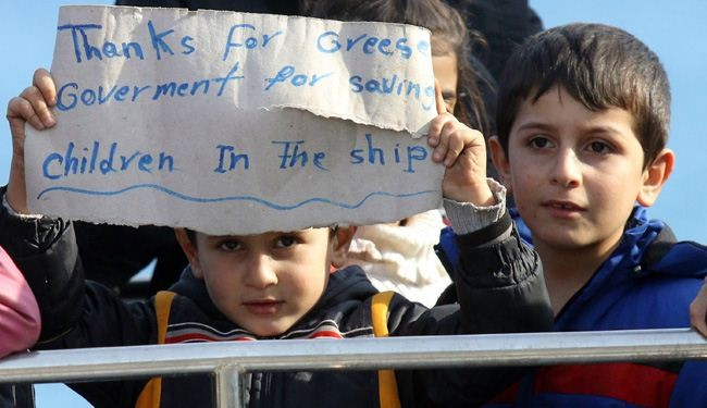 After Week of Wandering at Sea, Refugees Sheltered on Crete + Video