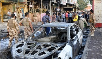 Photo of Terrorist Bombings Rock Baghdad, Kill 11