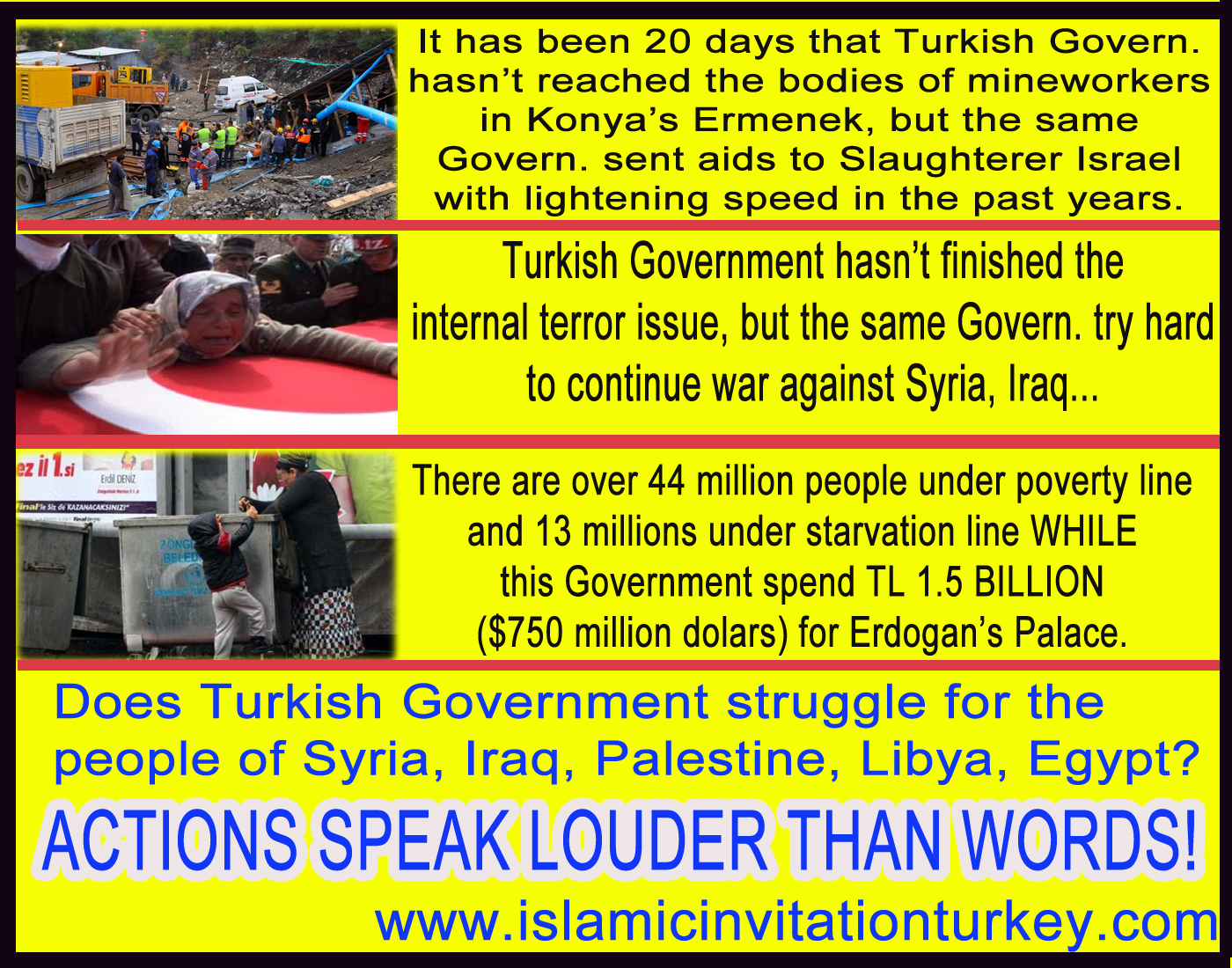 Photo of Does Turkish Govern. struggle for the people of Syria, Iraq, Palestine, Libya, Egypt? Then WHY…