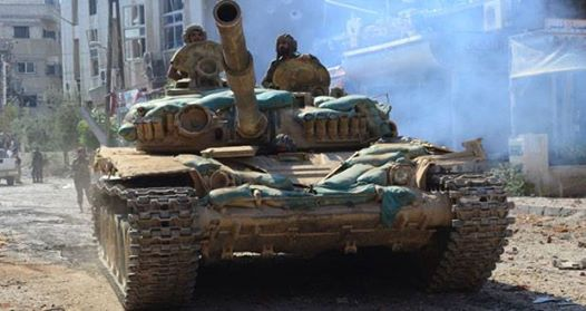 Photo of Syrian Army on its way to tighten grip on terrorists in Aleppo after new advances
