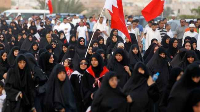 Photo of Zionist-backed Bahraini forces clash with Muslim mourners after funeral