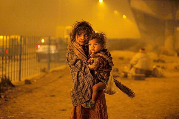 Photo of Many displaced by urban projects in New Delhi