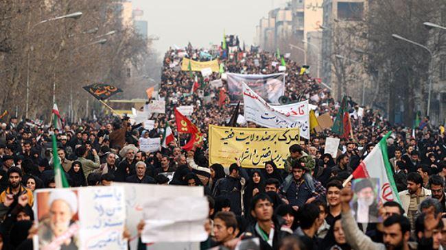 Photo of Iranians commemorate December 30 anniversary