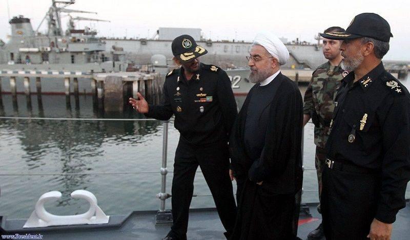 Iranian-President-on-Navy-Trip