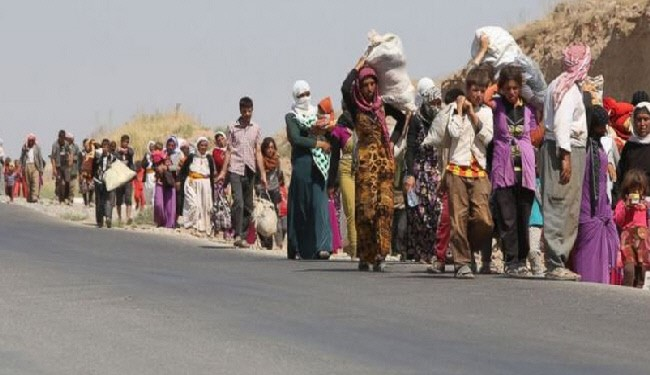 Photo of Iraq Peshmerga Forces Deliver Aid to Mount Sinjar