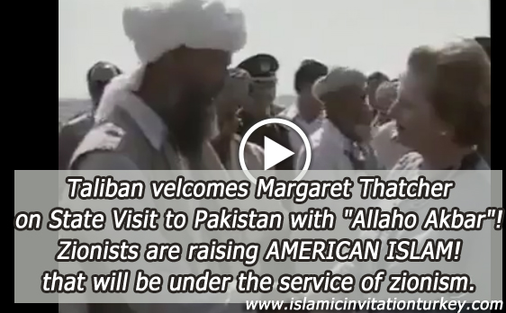 """Photo of VIDEO- Taliban welcomes brutal Margaret Thatcher on state visit to Pakistan with """"Allaho Akbar"""""""