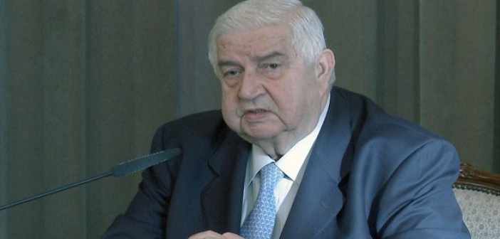 Photo of Al-Moallem: Israel wants to prolong crisis in Syria