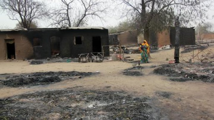 Photo of Boko Haram survivor told not to search for children, 'we killed them