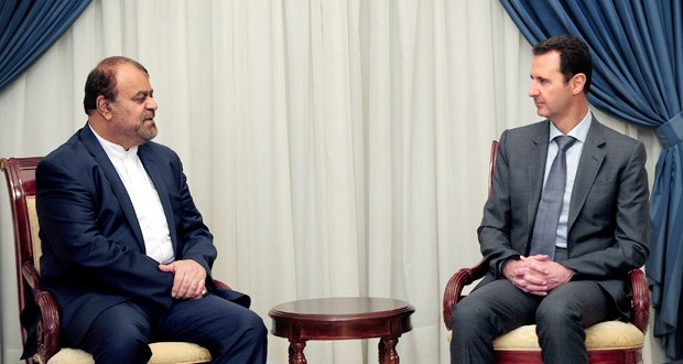Photo of President al-Assad meets Iranian official, asserts importance of Syrian-Iranian relations