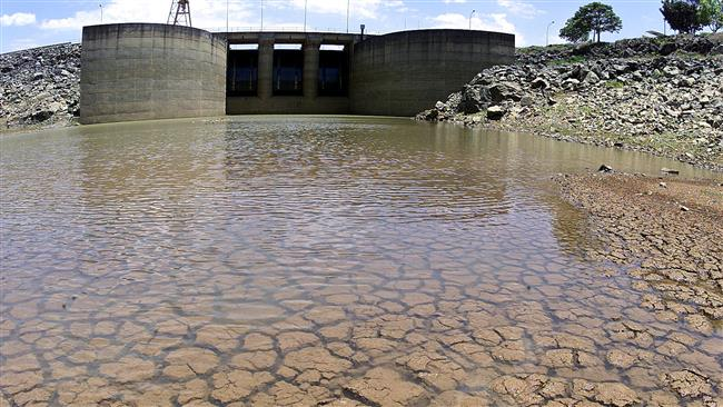 Photo of Sao Paulo's largest reservoir drying up: Experts