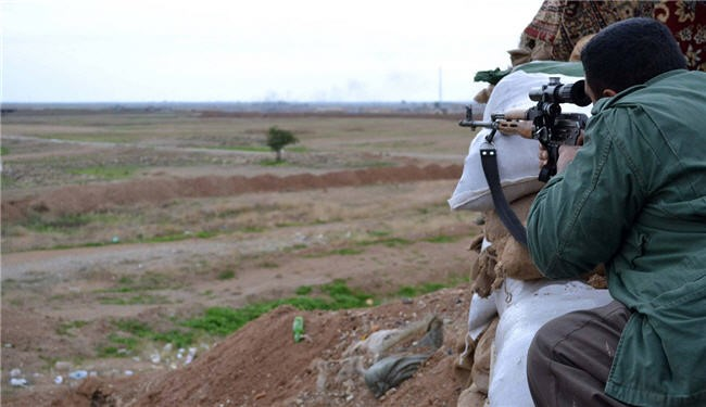 Kurdish Peshmarga repelled an attack by the ISIL Takfiri