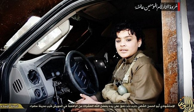 Photo of ISIS Youngest suicide Bomber Attack Iraqi city of Samarra