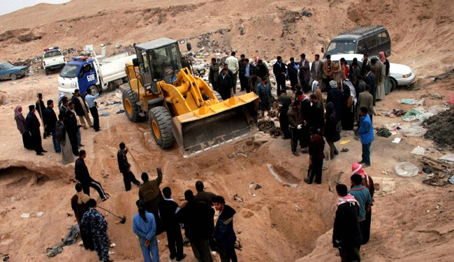 Mass Grave Found in Kobachi at Northern Iraq