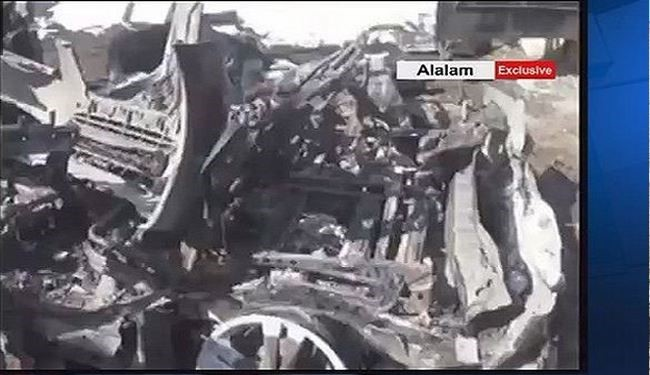 Alalam Exclusive: First Scene of Israeli Air Raid on Syria + Video