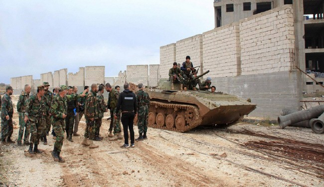 The Syrian army expanded its offensive operations against Takfiri militants