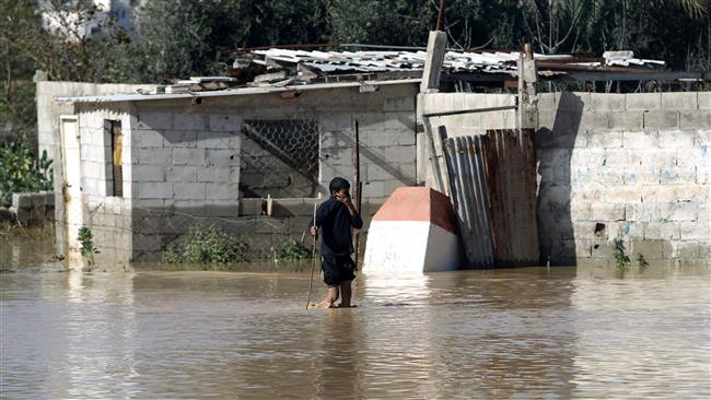 Photo of Rabid Dog israel opens dams' gates, floods Gaza