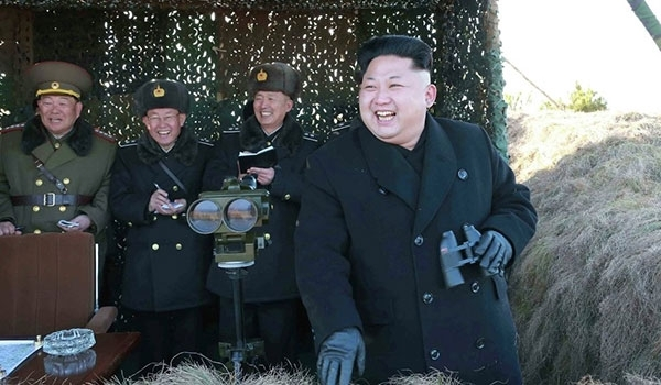Photo of North Korea Stages Exercise Targeting Imaginary US 'Imperialist Carrier'