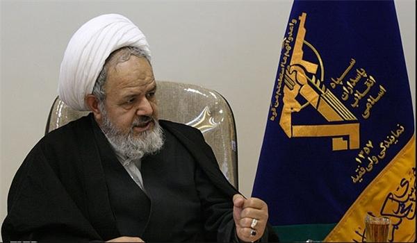 Photo of Leader of Islamic Ummah Imam Khamenei's Representative at IRGC: Surrender to US Impossible