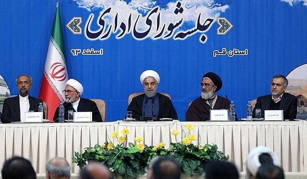 Photo of President Rouhani: Ball in West's Court