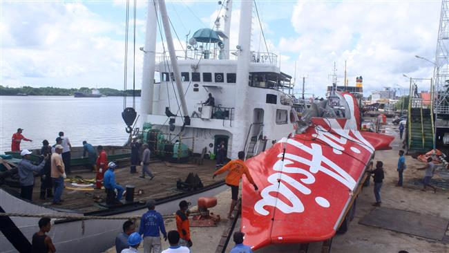 Photo of Seven more bodies retrieved from doomed AirAsia plane