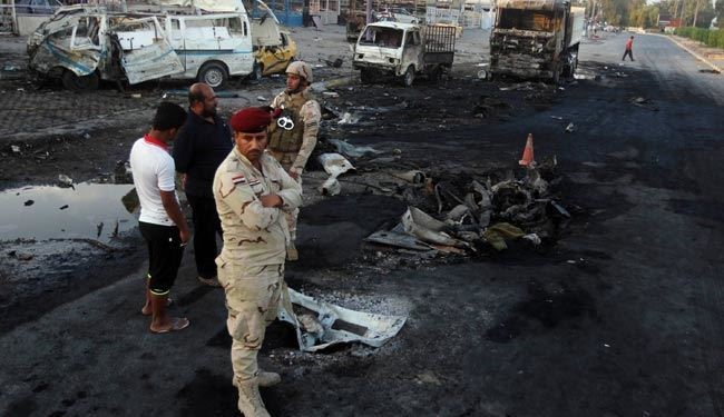 ISIS Suicide Attack to Samarra Left 17 Martyrs