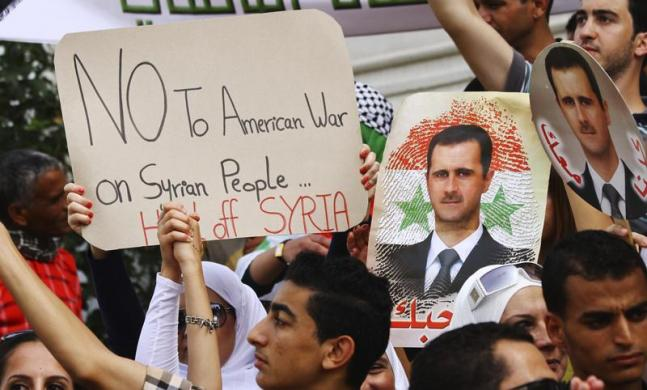 Photo of Syrians hold demo, urge terrorist al-Nusra leave the region immediately