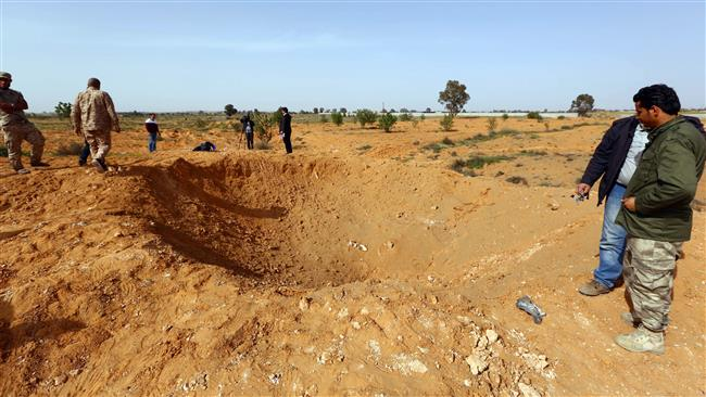 Photo of Libya warplanes target militants' positions near Tripoli