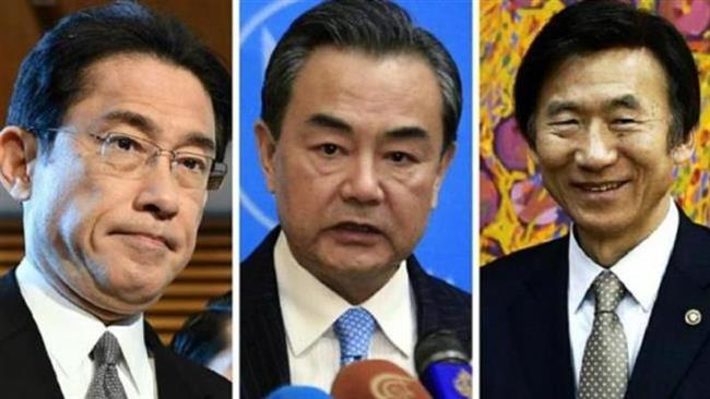 Photo of China, Japan, S Korea FMs to hold talks over disputes
