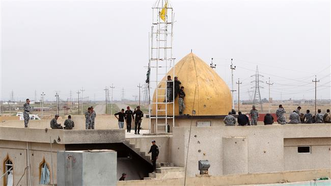 Photo of Iraqi forces retake control of Tikrit Grand Mosque
