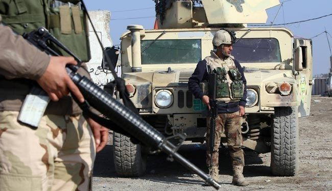 Photo of Advancing Iraq Troops Enter Strategic Town on the Edge of Tikrit