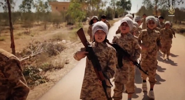 Children in ISIS; How ISIS Creating a Generation of Monsters + Pics