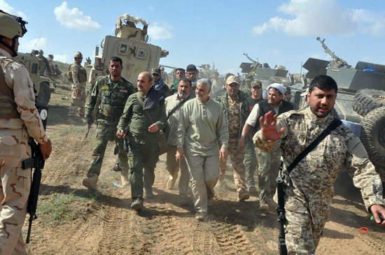 Photo of New Photo of Major General Qasem Soleimani