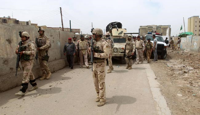 Photo of Iraqi forces lay siege on strategic town