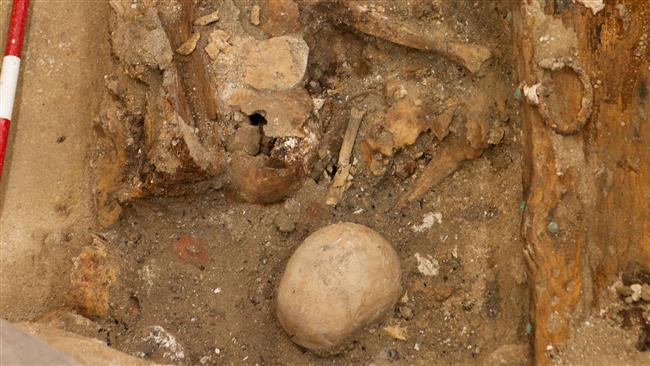 Photo of Cervantes remains found in Madrid