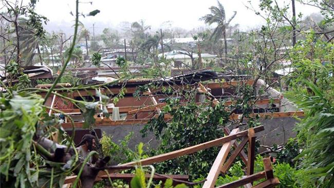 Photo of Dozens feared dead as cyclone hits island nation of Vanuatu