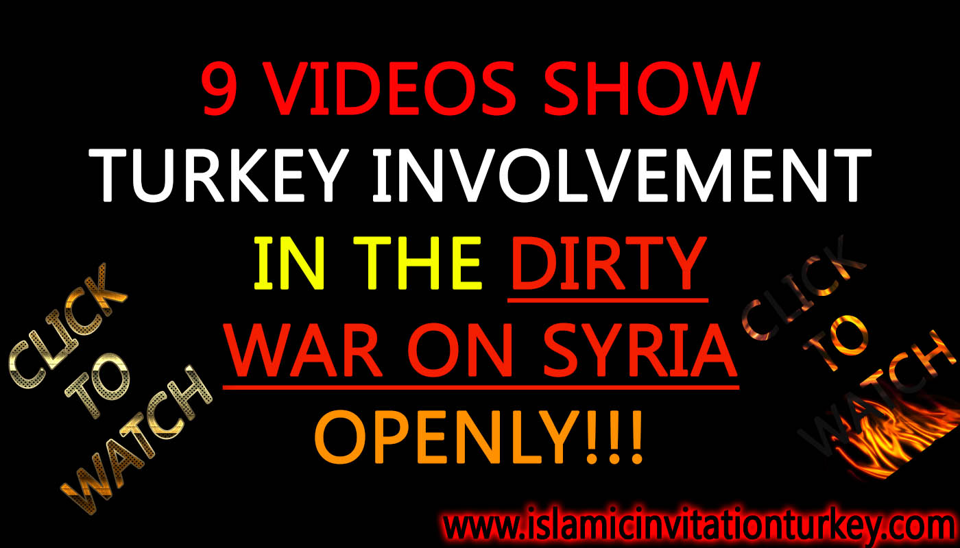 Photo of 9 VIDEOS show Turkey direct involvement in the dirty war on Syria. Click to watch…