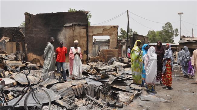 Photo of Boko Haram overruns northeastern Nigerian town, kills 11