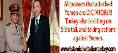 """Photo of Turkish Foreign Ministry: """"Saudi Arabia had already informed Turkey about their attack on Yemen."""""""