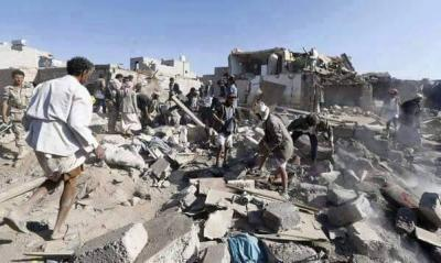 Photo of URGENT- Shame! Fighter jets of Occupation Saudi Arabia and other countries bombed a hospital in South Yemen, killed 4 people, 7 seriously injured