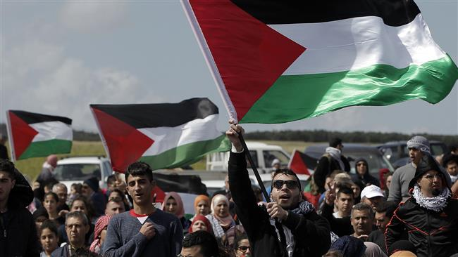 Photo of Palestinians rally in occupied lands to mark Nakba Day