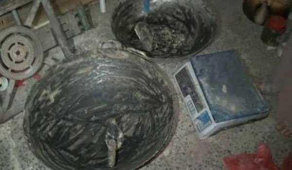 Photo of Source: Ansarullah Seizes Al-Qaeda Bomb-Making Facility in Sana'a