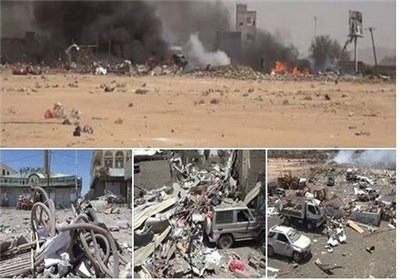 Photo of Zionist Saudi-Led Coalition Drops Poisonous Bombs on Yemen