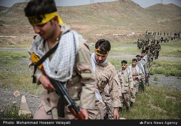 "Photo of IRGC's ""Towards Jerusalem"" Military Drills"