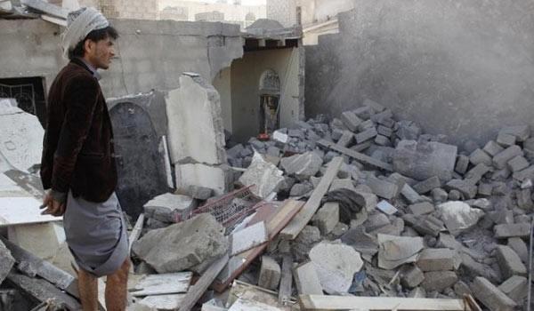 Photo of Saudi Arabia Annihilating Yemeni Historical Monuments