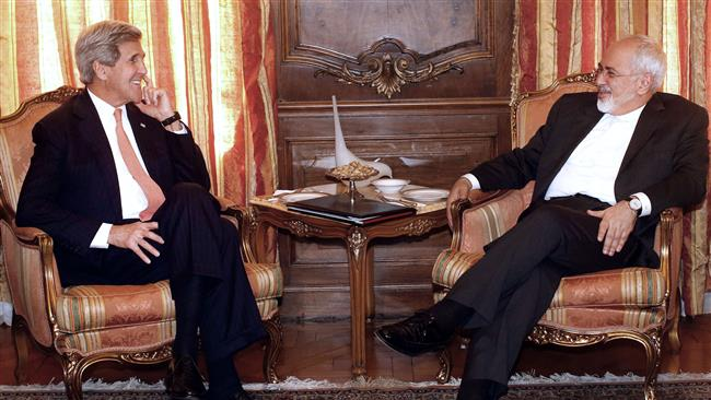 Photo of Meeting in New York : Zarif quite calm against Kerry