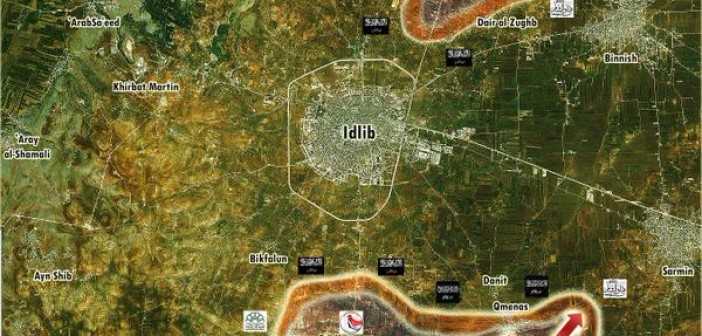 Photo of Battle Map Update of Idlib: Syrian Armed Forces on the Offensive