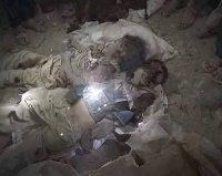 Photo of DISTURBING IMAGES of zionist Saudi Massacre in Yemen's Taiz are exactly the same as Terrorist israel's Massacre Images in GAZA