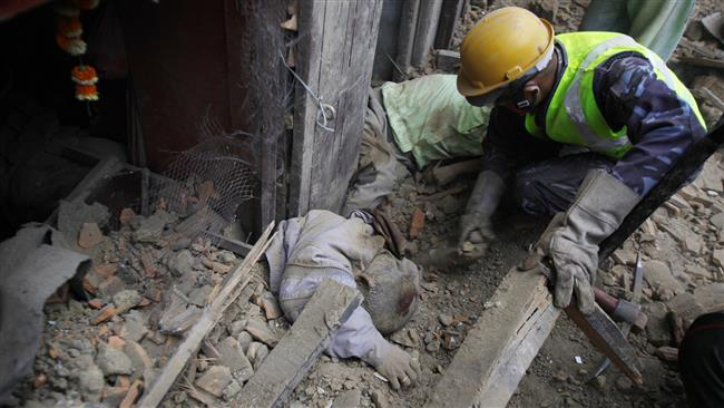 Photo of Over 2,000 people killed in Nepal earthquake: Photos